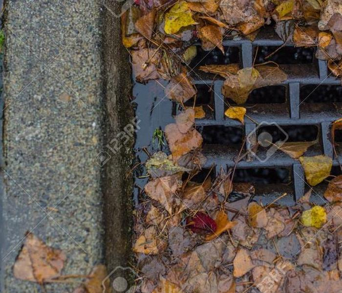Water Damage Don't Let Pretty Fall Foliage Cause Flooding!